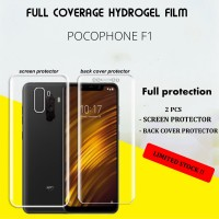 POCOPHONE F1 HYDROGEL JELLY SCREEN PROTECTOR FULL COVERED ANTI GORES