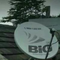 antena parabola mini big tv