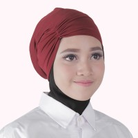 ciput kerut hana-jilbab nafisa-dalaman murah-inner trendy