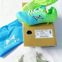 Sepatu Spike Sprint / Lari / Atletik / Paku HEALTH 135 BLUE GREEN