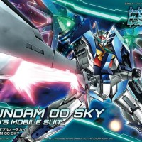 HG 1/144 OO Sky Original Gunpla Bandai Murah