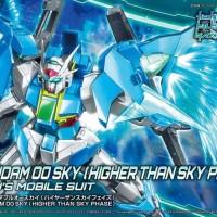 HG 1/144 OO Sky Higher Thansky Phase Original Gunpla Bandai Murah