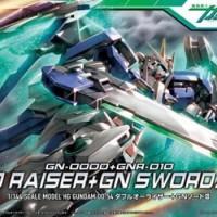 HG 1/144 OO Raiser GN Sword III Original Gunpla Bandai Murah