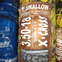 Ban Motor Cross Trail 350-18 X-CROSS Swallow SB 111