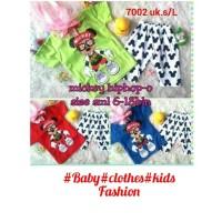 Setelan Baju anak Perempuan Mickey HipHop-O