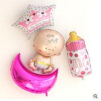 balon baby born birthday bayi lahir one month 1 bulan