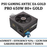 PSU Gaming Antec EA-Gold Pro 650W - EA650G PRO 80+