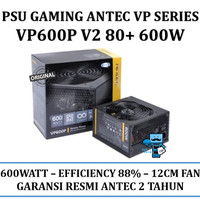 PSU Gaming Antec VP Series 600W - VP600P - 80+