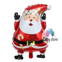 Balon Foil Santa Claus / Balon Merry Christmas / Balon Natal