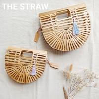 Tas Bambu Tassel The Straw Bamboo Bag