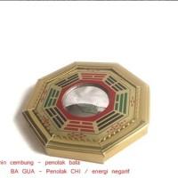 Feng shui Cermin Cembung Motif Ba Gua Tolak Bala - Small Size 12 cm