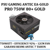 PSU Gaming Antec EA-Gold Pro 750W - EA750G PRO 80+
