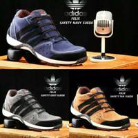sepatu adidas safety ujung besi grade import barang langka