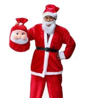 2019 Baju Sinterklas COWOK Kostum Santa Claus PRIA XXL Termurah
