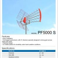 Antena Antenna TV Luar PF Goceng PF5000 Super High Gain UHF Pf 5000