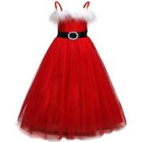 Baju Natal Santa Claus Anak Perempuan / Dress Natal Santa Klaus Anak