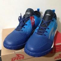 New Sepatu Futsal Specs Metasala Musketeer Galaxy Rock Blue 400739 Ori