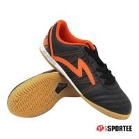 New Sepatu Futsal Specs Horus - Black/Orange (100% Original) 2017 -