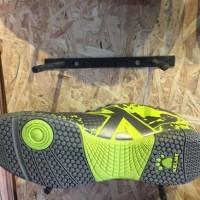 New Sepatu Futsal Kelme Original Star Evo Silver Lime New 2017