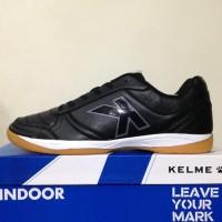 New Sepatu Futsal Kelme K-Strong Black Negro 55787 Original Bnib