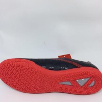New Sepatu Futsal Specs Original Quark In Black Emperor Red 2018