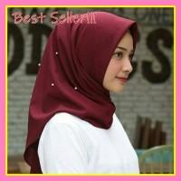 Hijab Katun Saudia Pearl Rawis Saudia Mutiara Jilbab
