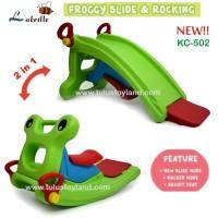Perosotan Labeille NEW Froggy 2 in 1 Slide to Rocker Kuda Kudaan