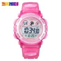 Jam Tangan Anak Perempuan Cewek SKMEI 1451 Original Anti Air 50M Pink