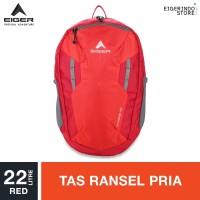 Eiger Strobe Daypack 22L - Red