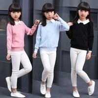 Collar Kids- baju anak - fashion anak - sweater anak - baju rajut - Hitam