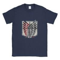 Baju Kaos Tshirt Attack On Titan Scouting Legion