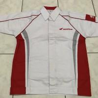 Seragam Mekanik Honda | Seragam mekanik AHASS (Baju + Celana)