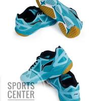 BIG SALE ! Sepatu Badminton Lining Premium AYTM037 / AYTM 037 Sky Blue