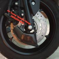 Air Scoop Kaliper Depan Carbon Kevlar Yamaha Nmax