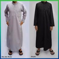 baju muslim gamis pria jubah arab kemeja hem gamis pakistan abu muda