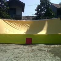 obral tenda pramuka kap 12 siswa/10 dewasa bahan parasut campur