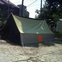 obral tenda pramuka kap 10 siswa/8 dewasa bahan waterproof campur