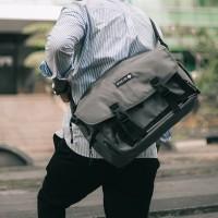 Arcio Delta Grey - Tas Selepmang Laptop Sekolah Kuliah Pria