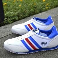 SEPATU SNEAKERS ADIDAS DRAGON WHITE FRANCE IMPORT