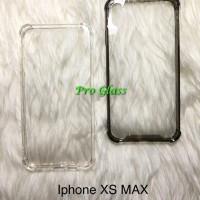 Iphone XS MAX Anticrack / Anti Crack / ACRYLIC Case Silicone Premium