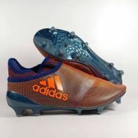 Sepatu Bola Adidas X17+ purespeed SOlar Orange FG Replika IMpor