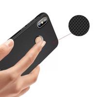 Shockproof Anti Slip Slim Black Matte Case Vivo V7 Plus