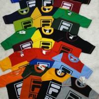 Kaos Anak FILA Size 5 - 9 Tahun Baju Atasan Anak Harian Shirt Kids