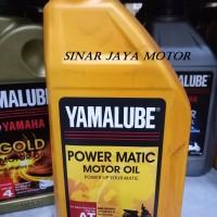 OLI MESIN YAMAHA YAMALUBE POWER MATIC 10W/40 4T (0.8L)