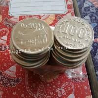 Uang kuno logam 100 rupiah tebal tahun 1973