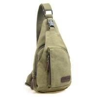 JM1725 - FASHI MEN SLING BAG IMPORT - TAS SELEMPANG PRIA GREEN