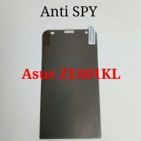 Anti Gores Screen Protector SPY Hitam Asus Zenfone 2 Laser ZE601KL