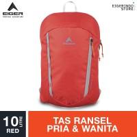 Eiger Kingfisher Lite Daypack 10L - Red