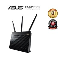 ASUS RT-AC68U AC1900 WiFi Dual-band Gigabit Wireless Router with AiMes