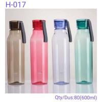 Botol Minum Soda Transparan - Botol Minum Tumbler Sport H017- Babamu